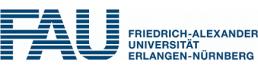 Logo Friedrich-Alexander-Universität Erlangen-Nürnberg (FAU)
